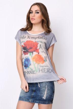 Kadın - 3 Boyutlu T-Shirt - Tozlugiyim.com.tr - Birbirinden Farklı #TShirt Modellerimiz ile Yeni Sezonda Rahatlığı ve Şıklığı Bir Arada Yaşayın! Tozlu.com.tr