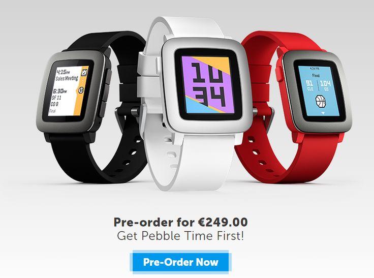 Στα 249€ η επίσημη τιμή του Pebble Time | Smartwatcher.gr