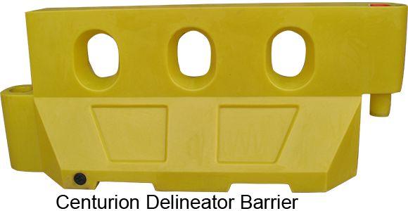 Delineator barriers  http://centurionbarriersystems.com.au/