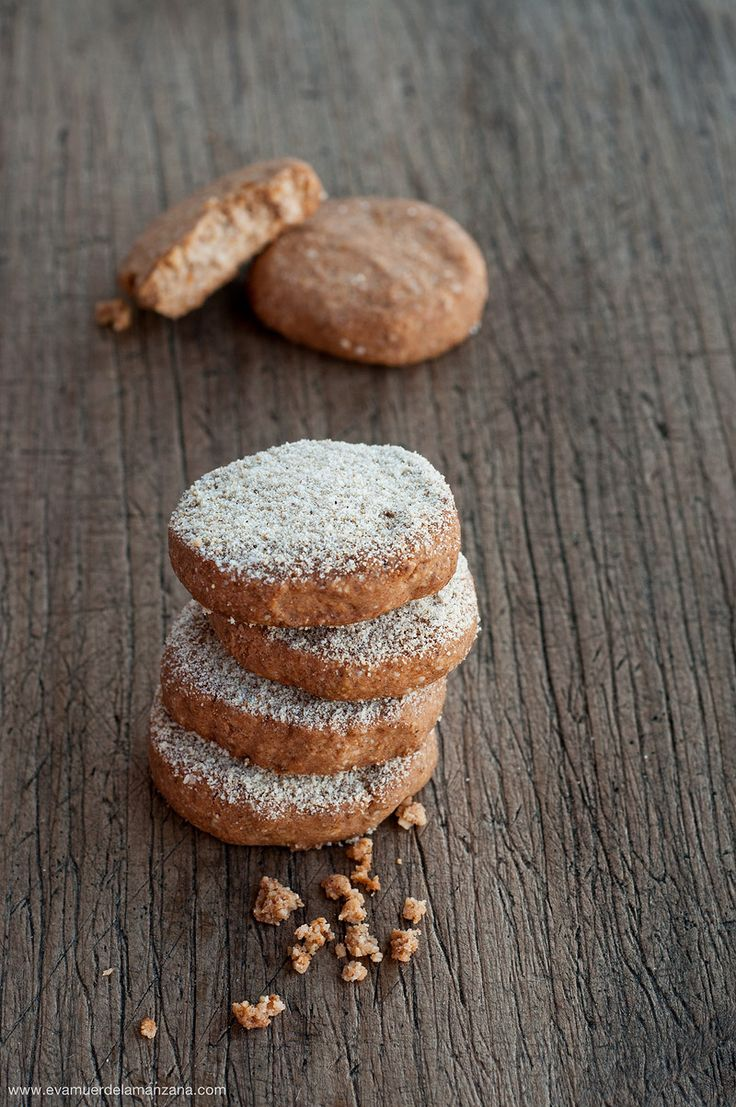 Paleo Polvorones de Canela, Jengibre y Naranja sin gluten - Coconut flour cookies