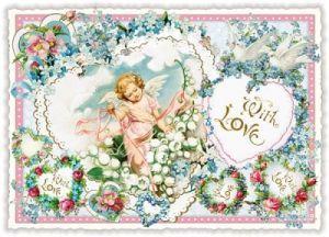 tausendschön postkarten - with Love