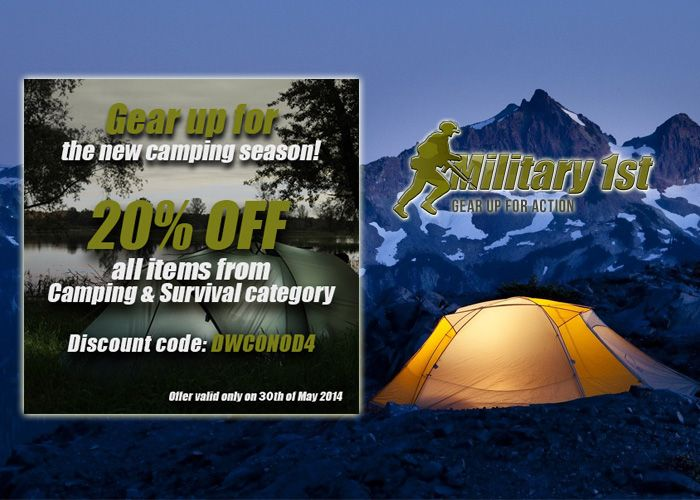 Camping Equipment Sale At Military1st
