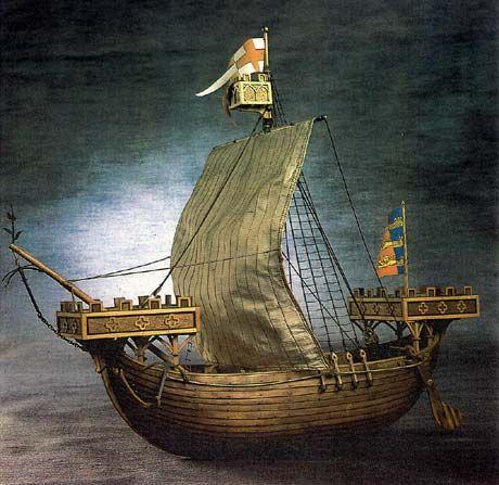parts of a cog ship