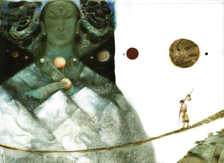 Стрелок и десять Солнц. Иллюстратор Павел Татарников