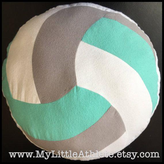 Volleyball Pillow Travel Size Volleyball Zebra by MyLittleAthlete