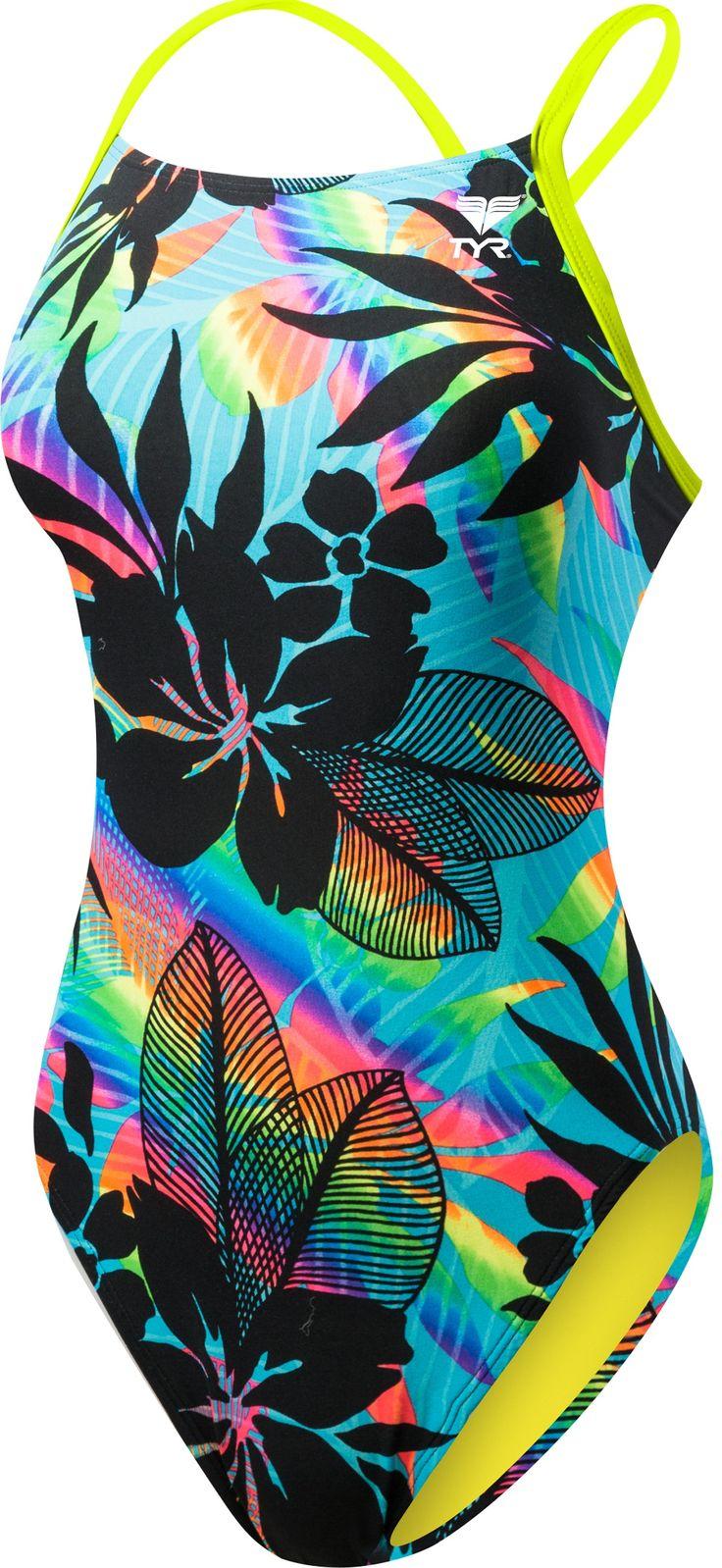 Women's Wanderlust Crosscutfit Tieback Swimsuit - Training Suits - Swimwear - Womens | TYR