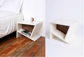 Image result for creative red bedside table