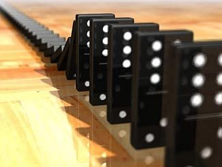 The Domino Theory as it Applies to Prepping - The world is becoming more like a chain of dominoes.  Whereas in a domino falling game, the rules say you start with only one domino being pushed over and then watch to see if all of the others fall, sequentially, we see the world as having several lines of dominoes all leading in to a central target, with any of the dominoes on any of the lines being able to fall over and to start the chain reaction down the rest of their line to the central…