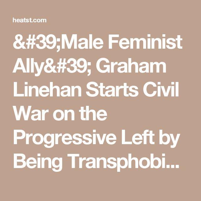 'Male Feminist Ally' Graham Linehan Starts Civil War on the Progressive Left by Being Transphobic |Heat Street