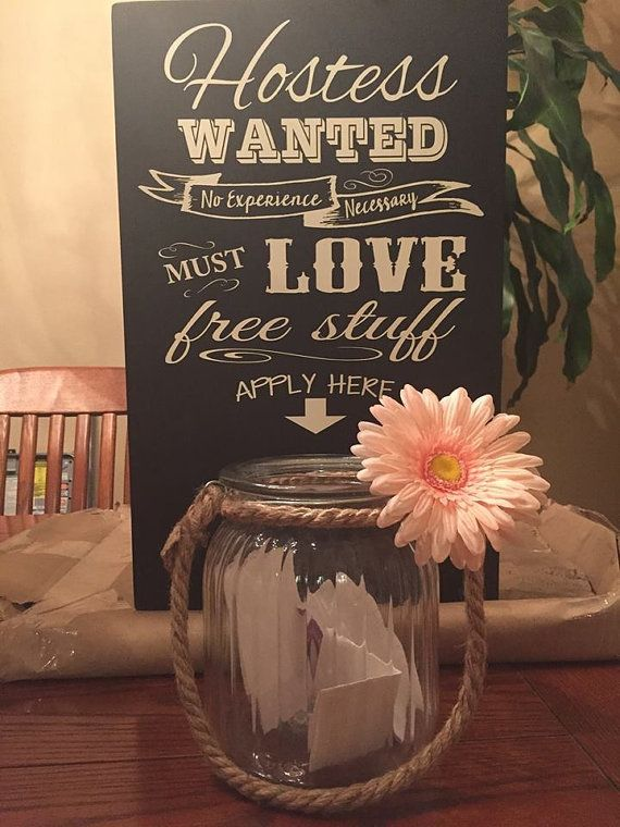 Hostess Wanted Sign by BBSIGNSDESIGNS on Etsy
