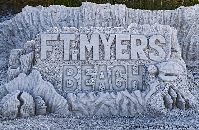 2011 American SandSculpting Championship on Fort Myers Beach | Championnat américain de sculpture de sable à la plage de Fort Myers https://destinations.jaunt.ca/the-beaches-of-fort-myers-and-sanibel