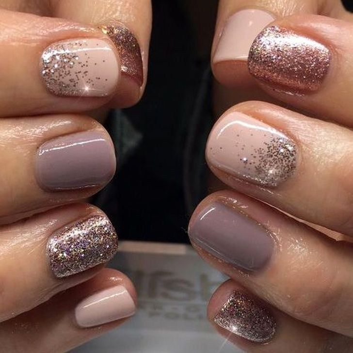 Fashionable Winter Nail Art Designs 2018 Ideas 07