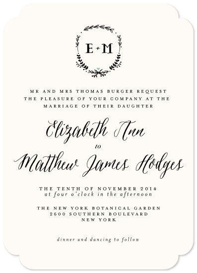 wedding invitations - Always by Susan