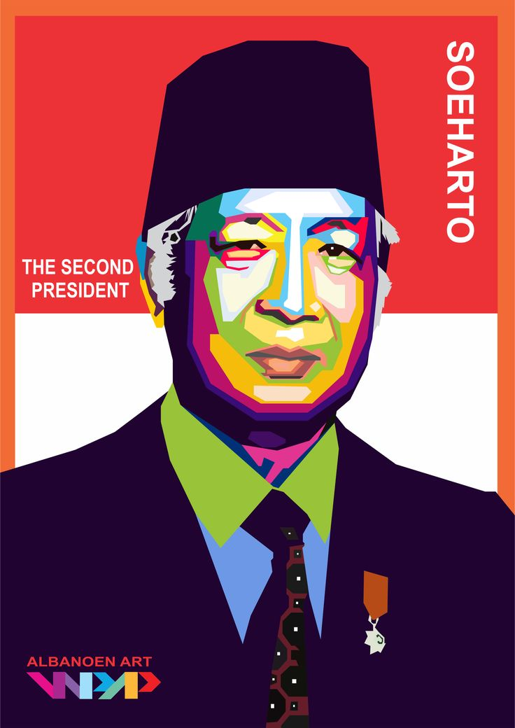 the second President of Indonesian