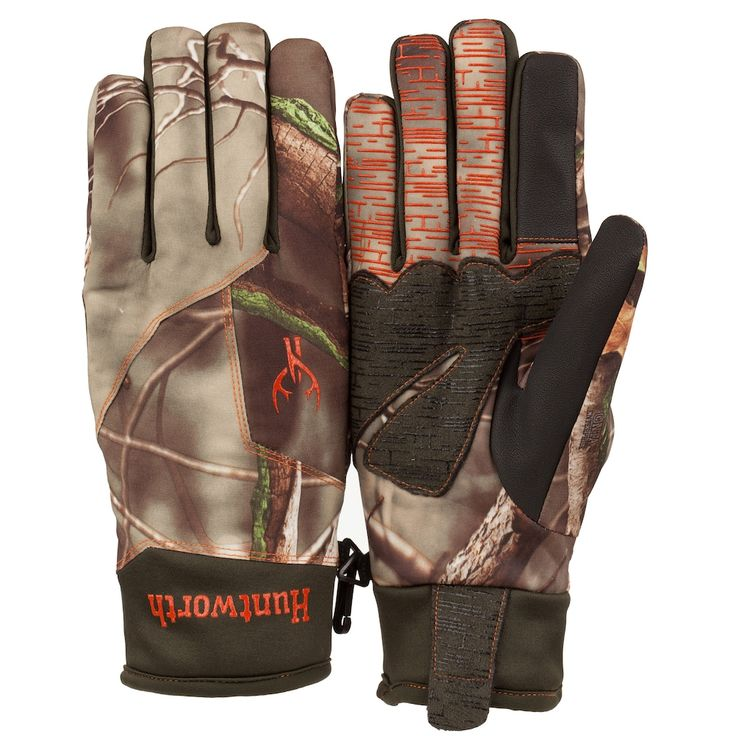 Men's Huntworth Oak Tree EVO Camouflage RaFlect™ Touchscreen Hunting Gloves, Green