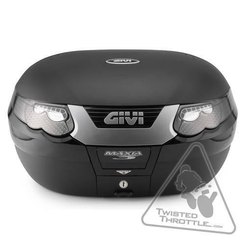 Givi E55 Maxia 3 Monokey Topcase, Tech Luxury Edition (ea) - 55 liters/case
