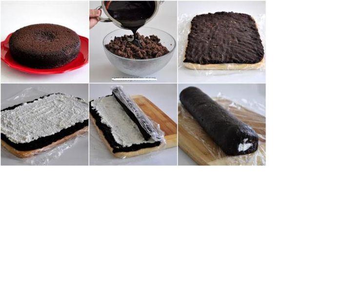 Çikolatalı kolay rulo pasta tarifi, Çikolatalı kolay rulo pasta Yapımı, Çikolatalı kolay rulo pasta Yapılışı, Çikolatalı kolay rulo pasta nasıl Yapılır?, Çikolatalı Pastalar, Çikolatalı Pasta Tarifleri