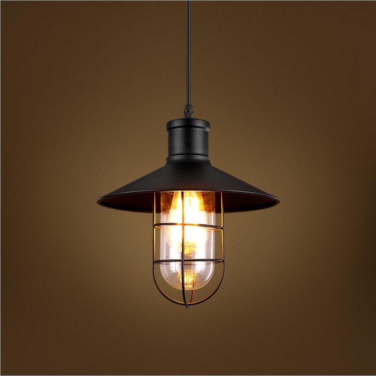 Творческий Nordic Американский стиль страна ресторан проход освещение промышленности ретро творческий склад Клетка Люстра лампы