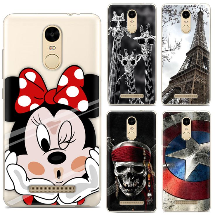 For Xiaomi Redmi Note 3 Case Heyqie Thin Painted TPU Silicone Back Phone Cover Case For Xiaomi Redmi Note 3 Pro Prime Case 5.5''