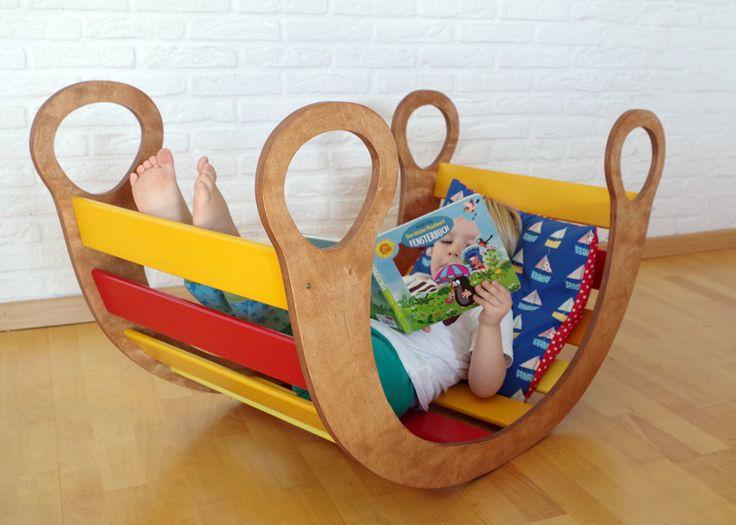 Spielmöbel für kleine und große Kinder: Kletterbogen - Wippe - Wiege - Rutsche - Höhle - Sprossenbogen _ DIY / selber bauen, mit Schablone! _ Holz Spielzeug Kindermöbel _