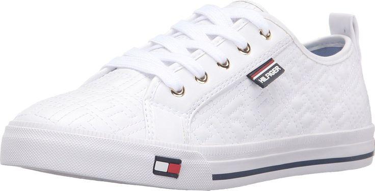 Tommy Hilfiger Women's Azalea White Sneaker 8 M