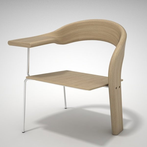 Kamilla Lang 'Cafe' Chair
