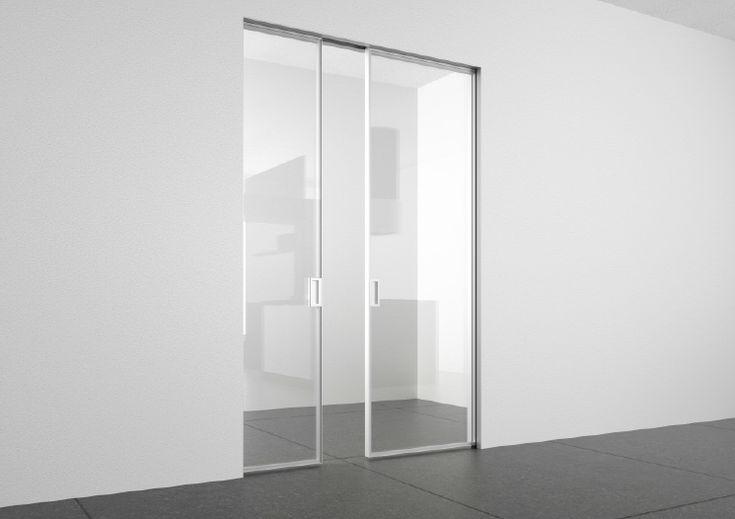 25 best Porte da interni Adielle images on Pinterest | Glass doors ...