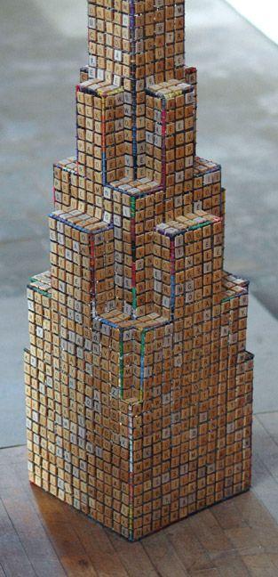 Scrabble Tile art 0960 by Clare Graham
