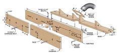 Feature-Filled Router Table Fence This $50 fence can make your router table sing! By George Vondriska You can build this completely tricked-out router table fence in an afternoon for about 50 bucks, using easily available parts.Here's what you get:• Flexibility. Tall or short, it's easy to swap between the faces of this fence, so you always have the right one for the job. • Adjustability. It's a breeze to adjust …