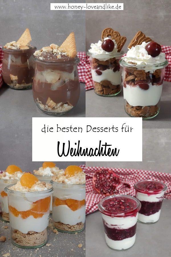Hier findest du die besten Desserts im Glas. #Sc…