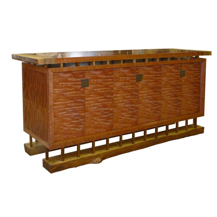 Figured Myrtle Sideboard by Anton Gerner - bespoke contemporary furniture melbourne