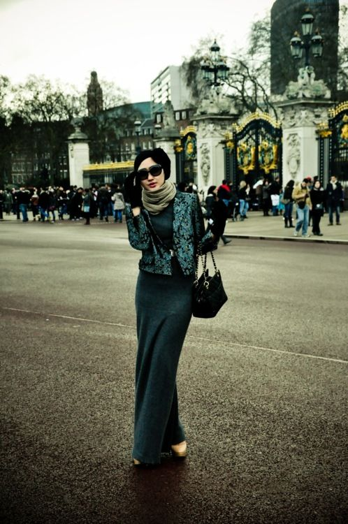 Love it! #hijab #fashion #europe