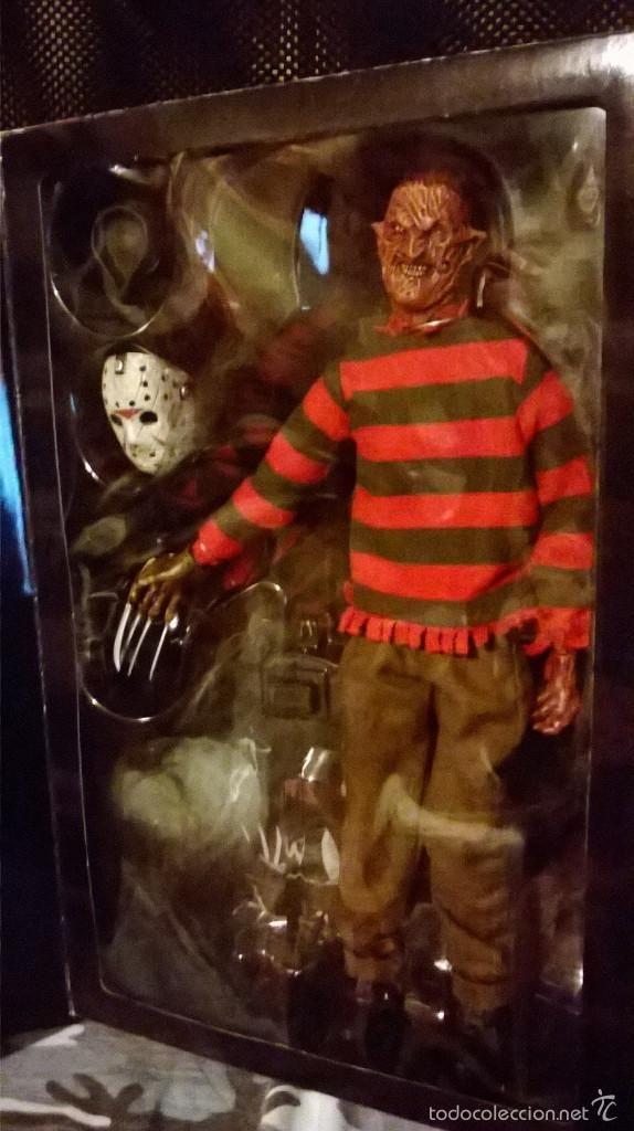 Demon Freddy Toys : Figuras de acción sideshow freddy vs jason