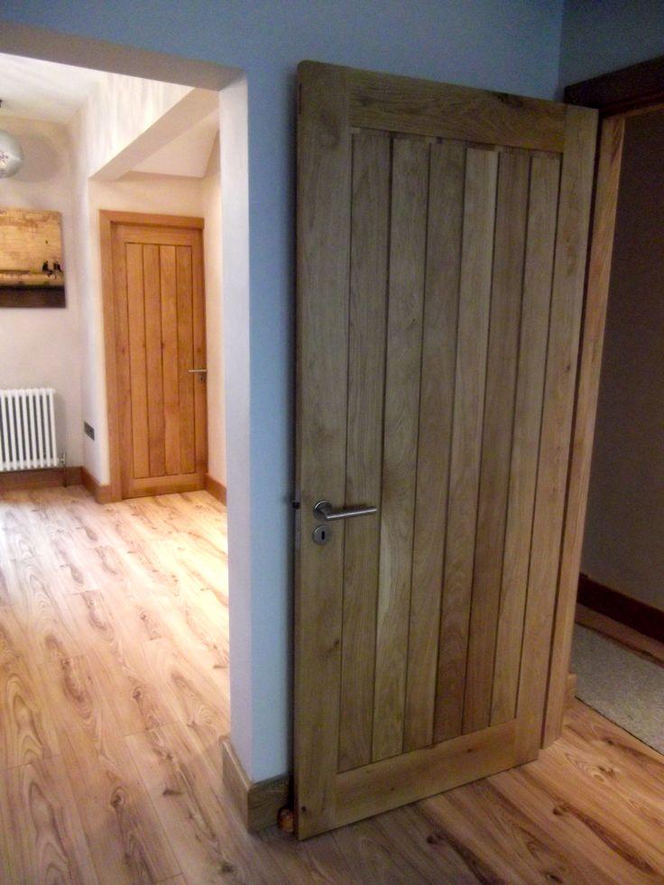 Mexicano Solid Oak Doors, Modern internal oak doors. #MexicanoDoors http://www.ukoakdoors.co.uk/internal-doors/internal-doors-by-style/mexicano-doors/mexicano-contemporary-solid-oak-door.html
