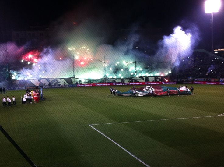 War zone against olympiakos #always green