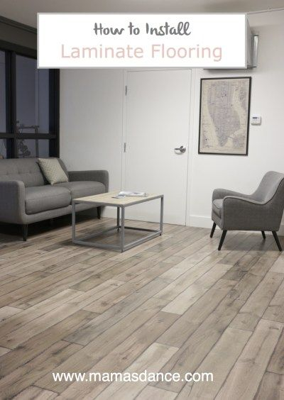 How to Install Laminate Flooring with Full Video Tutorial | via Ashlea of This Mamas Dance