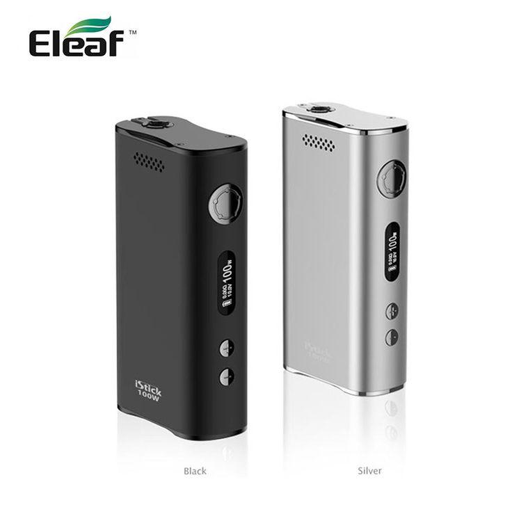 100% D'origine Eleaf iStick 100 W Kit Simple Pack 510 fil Eleaf istick 100 watts boîte mod électronique cigaratte vaporisateur boîte mod