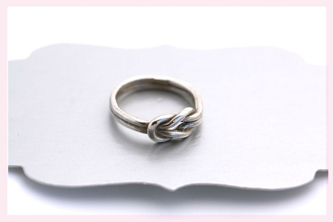 Silver Double Knot Ring by Janine Binneman Jewellery Design on hellopretty.co.za ~ Culinary Tactics Suggest s You Look @ Jewelery By Janine Binneman ~ We Luv It ~  Design on hellopretty.co.za
