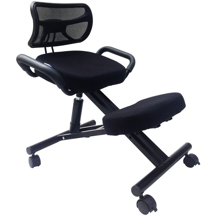 Sierra Comfort SC-300 Ergonomic Kneeling Chair With Back
