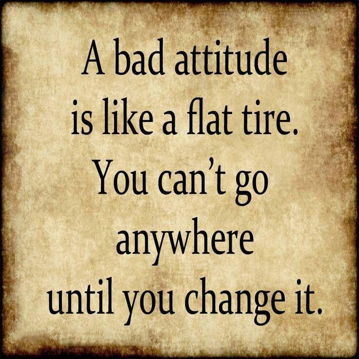 Change Your Attitude Quotes: Change Your Attitude