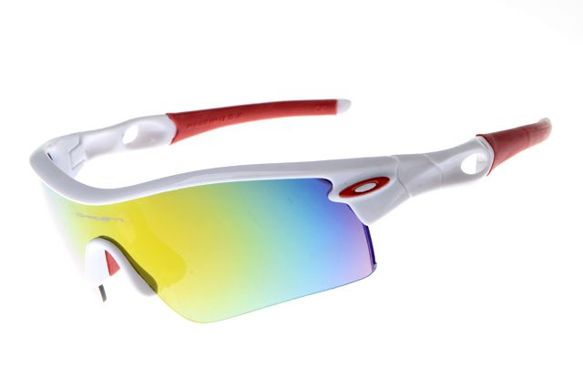 fake oakleys red and white