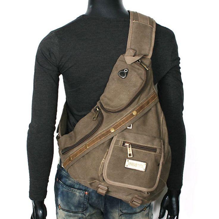 ** ** Premium Look Vintage para hombres desequilibrado Militar Mochila Senderismo Sling Bag #030   Ropa, calzado y accesorios, Accesorios para hombre, Mochilas, bolsos y maletines   eBay!