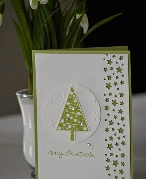 weihnachtskarten basteln ein pers nliches geschenk f r. Black Bedroom Furniture Sets. Home Design Ideas
