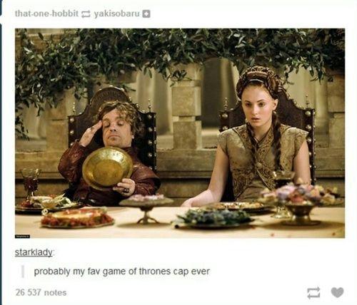 sansa stark, tyrion lannister, and funny image