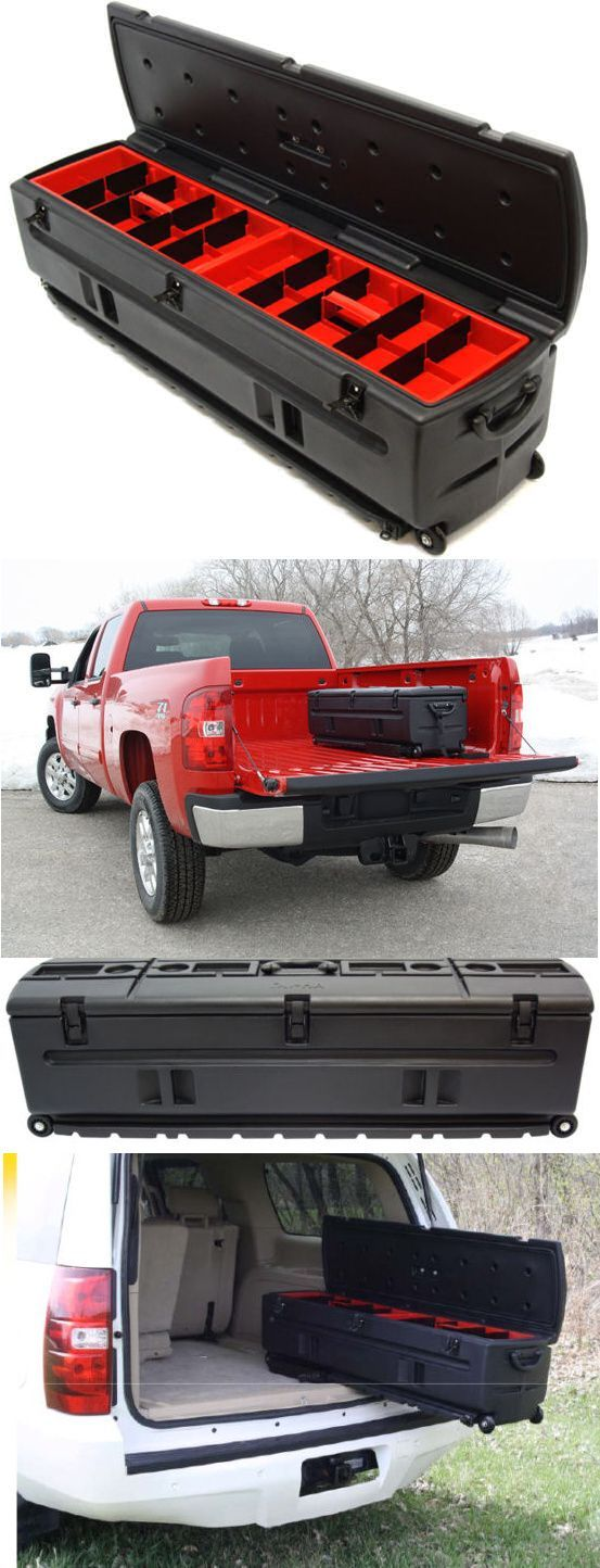 DuHa Tote; Check out this truly amazing Portable All-In-One RollingTool Box that serves as a storage unit; tool box; and a gun case. This truly unique and versatile tool box is a must have item for any Pickup or SUV! Price $345.00 which includes Free Shipping! #toolbox #trucktoolbox #rollingtoolbox #rollingtoolcart #toolchest #toolcart #portabletoolbox #toolstoragebox #storagebox