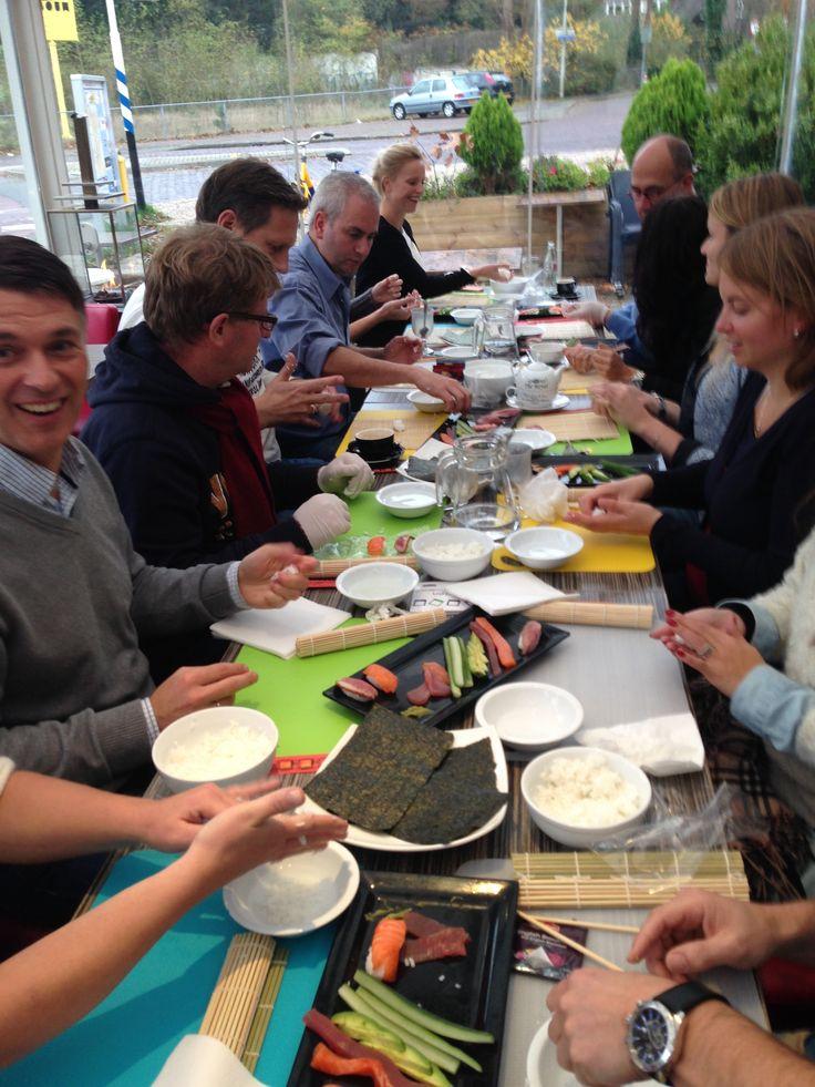 Sushi workshop ! Zelf heerlijke verse en gezonde sushi maken onder begeleiding van onze sushi chef.