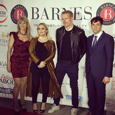 The red carpet is on fire at COLCOA After Party by Barnes Paparazzi are going crazy at the COLCOA After Party by Barnes @lambert.wilson #colcoa #barneslatcolcoa #tv5monde #avantgardemagazine #xlairways #bankofthewest #barnes #boiron #boironusa #calparrio #chateauminuty #iprod @splashprclaire @boironusa @heritagefinewines @xlairways @barneslosangeles #afterparty #losangeles #california #filmfestival #party #model #celebration #halfpops #frenchcinema #modshairlosangeles #maisonprivee…