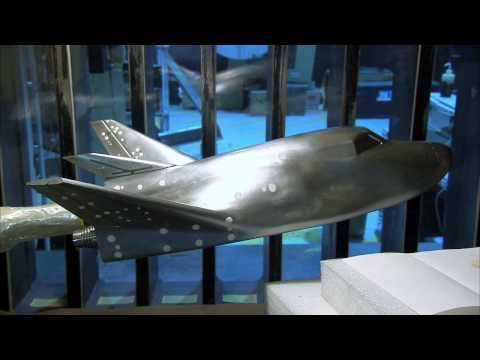 Engineers used a wind tunnel at NASA's Langley Research Center in Hampton, Virginia, to evaluate the design of Sierra Nevada Corporation's Dream Chaser spacecraft. The Dream Chaser is one of the spacecraft in development in partnership with NASA's Commercial Crew Program.