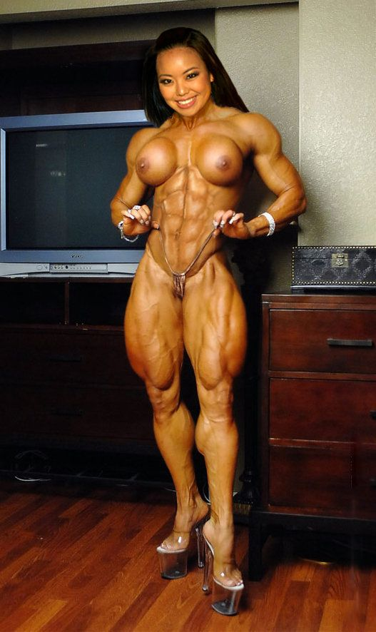 Asian Female Bodybuilding Nude 75