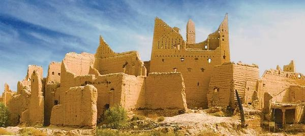 Ruins of old Diriyah, near Riyadh, Saudi Arabia